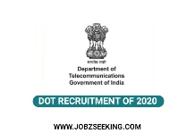 dot 2020, dot recruitment 2020department of telecommunication of india recruitment 2020