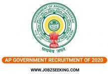 AP Sachivalayam Recruitment 2020