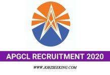 APGCL assam recruitment 2020