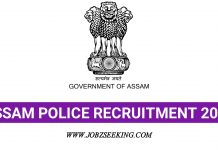 Assam police constable posts 2020