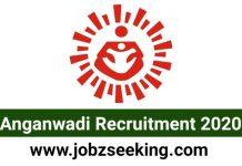 Anganwadi Recruitment 2020
