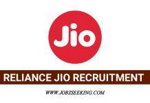 Reliance jio Recruitment Recruitment 2020