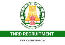 TNRD Recruitment 2020
