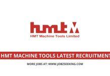 HMT Machine Tools recruitment