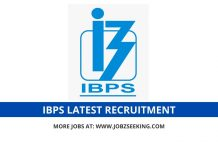 IBPS recruitment 2020
