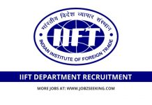 IIFT recruitment 2020