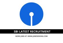 SBI recruitment posts