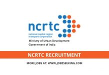 NCRTC jobs vacancy