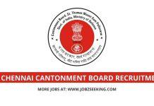 Chennai cantonment Board